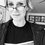 "Jane Lynch is 6'0"" tall. (Photo: Instagram, @janelynchofficial)"