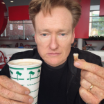 "Conan O'Brien is 6'4"" tall. (Photo: Instagram, @teamcoco)"
