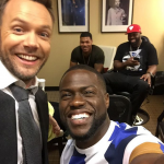 "Joel McHale is 6'4"" tall. (Photo: Instagram, @joelmchale)"