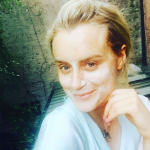 Taylor Schilling - Sleater Keaney. (Photo: Instagram, @tayjschilling)