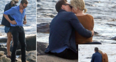 Taylor Swift snapped kissing Tom Hiddleston!
