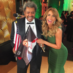 Don King spent three years in prison for murder, arson and drug dealing. (Photo: Instagram, @liliestefan)