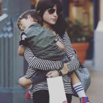 The 43-year-old was on the flight with her four-year-old son Arthur at the time. (Photo: Instagram, @weloveselmablair)