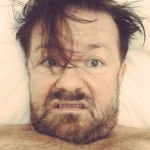 Ricky Gervais. (Photo: Instagram, @rickygervais)