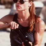 Linda Hamilton will turn 60 on September 26. (Photo: Instagram, @vivsy7426)