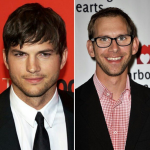 Ashton and Michael Kutcher. (Photo: Instagram, @cinemastararmenia)