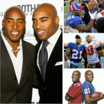 Tiki and Ronde Barber. (Photo: Instagram, @sunny98.1)