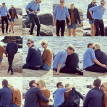 The couple were recently spotted kissing on a beach shortly after news broke that Taylor and Calvin Harris broke up. (Photo: Instagram, @cheshire._.kitten)