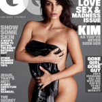 Kim Kardashian has stripped down in a glamorous nude photo shoot for GQ and found time to burn Taylor Swift. (Photo: Instagram, @gq)