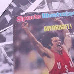 She appeared on the cover in 1976 after winning the decathlon at the Olympic Games as Bruce Jenner. (Photo: Instagram, @sportsillustrated)