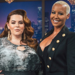 Rose and her guest Tess Holliday discussed having sex while pregnant. (Photo: Instagram, @vh1)