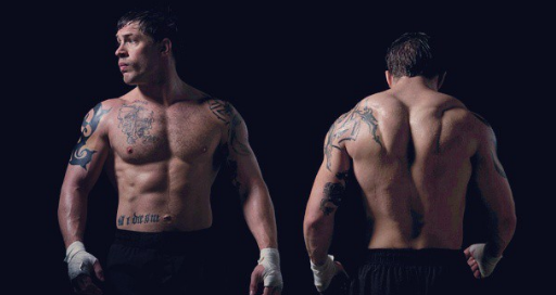 Tom Hardy in Warrior (2011). (Photo: Instagram, @matthieujsd)