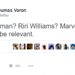 Comic book fans and casual observers had a mixed reaction to the new character. (Photo: Twitter, @PhoeboBuffay)