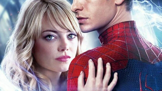 Andrew Garfield and Emma Stone in The Amazing Spider-Man 2 (2014). (Photo: Instagram, @manininiiiii)