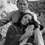Richard Burton and Elizabeth Taylor in Who's Afraid of Virginia Woolf? (1966). (Photo: Instagram, @classic_hollywood16)