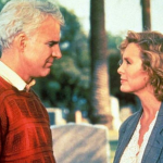 Steve Martin and Victoria Tennant in L.A. Story (1991). (Photo: Instagram, @cinedelos90)