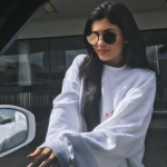 Marriage rumours have intensified after Kylie Jenner was snapped wearing a massive ring on her left hand. (Photo: Instagram, @kyliejenner)