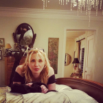 Q: At whose head did Courtney Love throw a MAC compact during an interview once? (Photo: Instagram, @courtneylove)