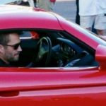 This photo of Paul Walker was taken shortly before he lost control, crashed and died in the car pictured. (Photo: Archive)