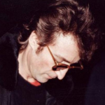 In this picture John Lennon is signing a photograph for Mark David Chapman, the man who fatally shot him six hours later. (Photo: Archive)