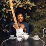 This final photo of Jimi Hendrix was taken hours before he died choking on his own vomit after a heavy night of drinking. (Photo: Archive)