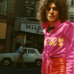 This picture of glam legend Marc Bolan was taken three days before he died in a car crash in 1977. (Photo: Archive)