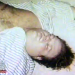 In this picture taken shortly before his death from a heroin overdose, comedian Chris Farley appears to be asleep or passed out. (Photo: Archive)