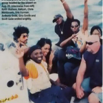 In this picture Aaliyah can be seen on the boat that took her to the plane in which she died aged 22. (Photo: Archive)