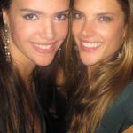 """Alessandra Ambrosio – """"I think it's very important to sleep well, eight hours of sleep is very important. Always keep myself hydrated and I drink plenty of green juices, along with eating proteins and vegetables that give me energy. Again, I work out a few weeks before the show, every day, no excuses (laughs)."""" (Photo: JETSS)"""