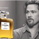 Brad Pitt for Chanel No. 5. (Photo: Archive)