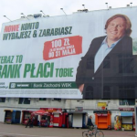 Gerard Depardieu for Bank Zachondi. (Photo: Archive)