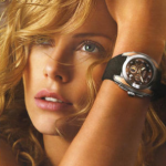Charlize Theron for Breil watches. (Photo: Archive)