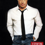 Brad Pitt for Edwin jeans. (Photo: Archive)