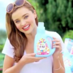 Miranda Kerr for P&G detergent. (Photo: Archive)