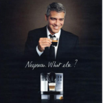George Clooney for Nespresso. (Photo: Archive)
