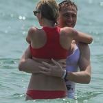 Taylor Swift and Tom Hiddleston put on a mighty public display of affection over the Fourth of July weekend. (Photo: Twitter, @SimplySFans)