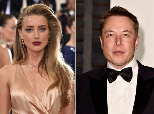 Amber Heard and billionaire Elon Musk have reportedly been getting close. (Photo: Instagram, @glamurama)