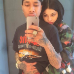 Kylie and the 26-year-old Tyga recently reconciled after breaking up earlier this year. (Photo: Instagram, @last_k_i_n_g)
