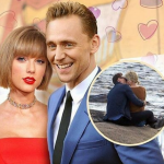 The British actor has moved into the picture at a speed that has made Calvin Harris very suspicious. (Photo: Instagram, @swiftie.feels)