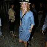 Elizabeth Banks heading out for dinner in the Leblon district of Rio. (Photo: AgNews)