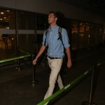 US swimmers Gunnar Bentz and Jack Conger arrive at the Rio Galeão international airport on Thursday. (Photo: AgNews)