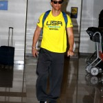 Matthew McConaughey arrives in Rio de Janeiro for the Olympic Games. (Photo: AgNews)