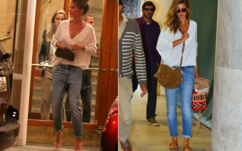 Gisele Bündchen's secret to day-to-night outfits