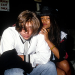 Brad Pitt and Robin Givens, 1988. (Photo: Archive)