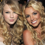 Britney Spears has claimed that she has never met Taylor Swift, but this photo proves otherwise. (Photo: Twitter: @kiis1065)