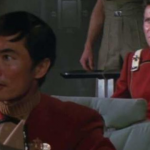 William Shatner and George Takei on Star Trek. (Photo: Archive)