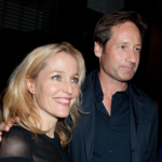 David Duchovny and Gillian Anderson on The X-Files. (Photo: Archive)