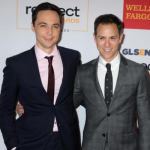 Jim Parsons and Todd Spiewak. (Photo: Archive)