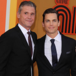 Simon Halls and Matt Bomer. (Photo: Archive)