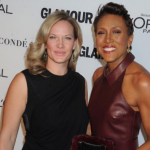 Amber Laign and Robin Roberts. (Photo: Archive)